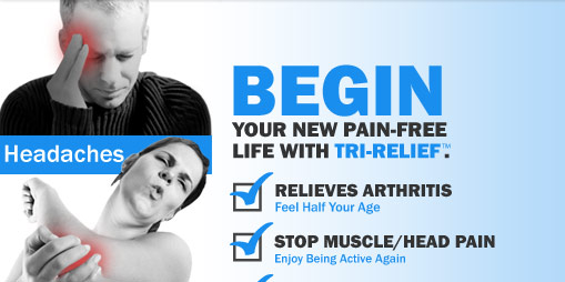 Tri-Relief is great for arthritis